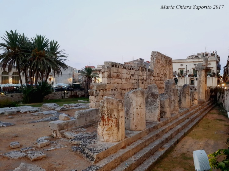 Sicilia Orientale - Tempio di Apollo - Isola di Ortigia