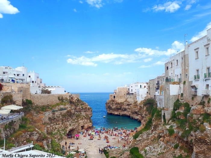 Polignano a Mare cosa vedere - Lama Monachile e Bastione Santo Stefano