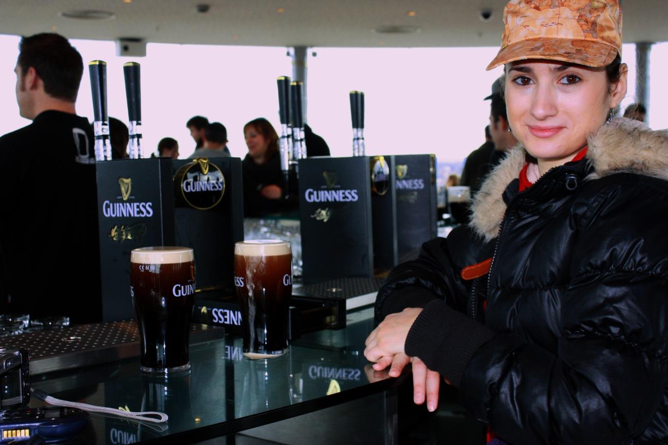 Dublino cosa vedere Guinness StoreHouse