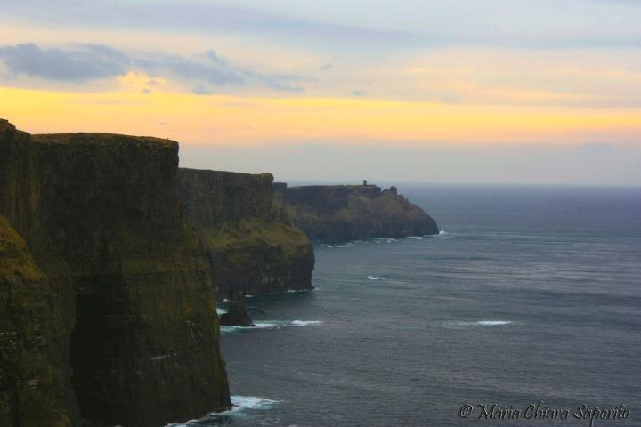 Cliffs off Moher