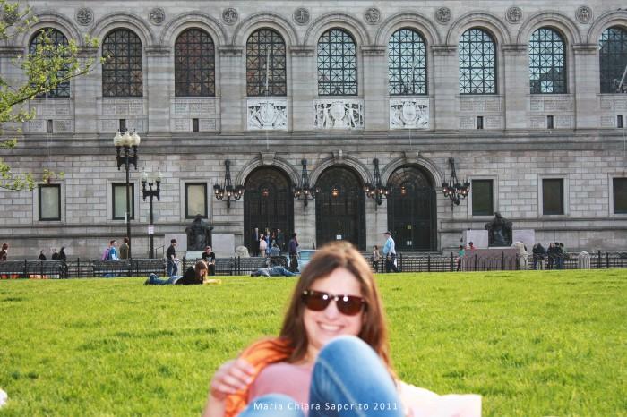 Boston Copley Square and Boston Public Library