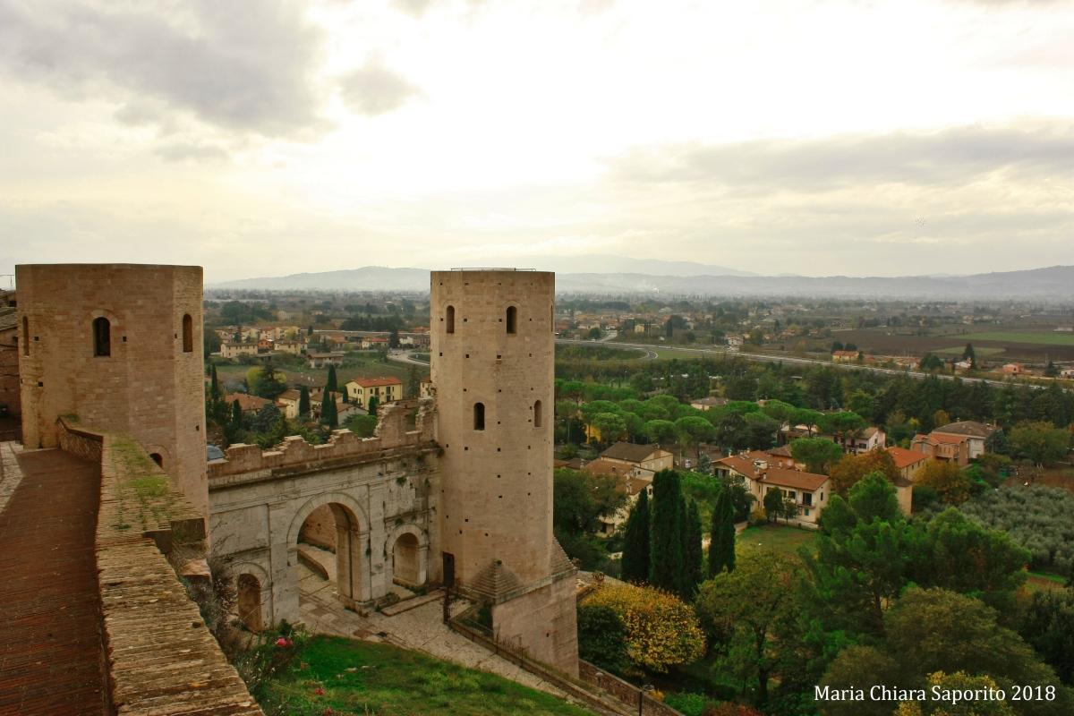 Cosa vedere a Spello, il borgo rosa dell'Umbria