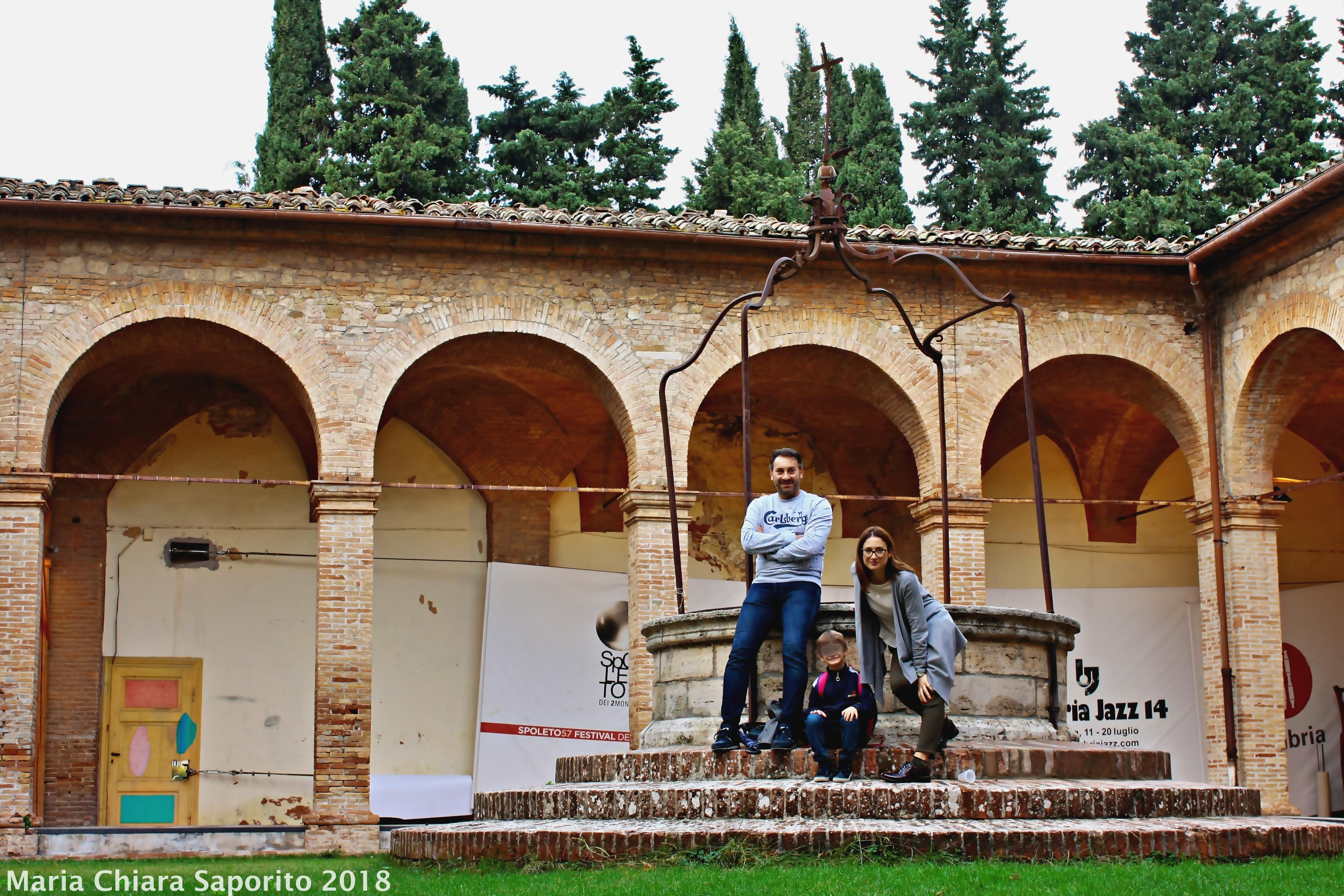 chiostro dell'Oratorio di San Bernardino Perugia