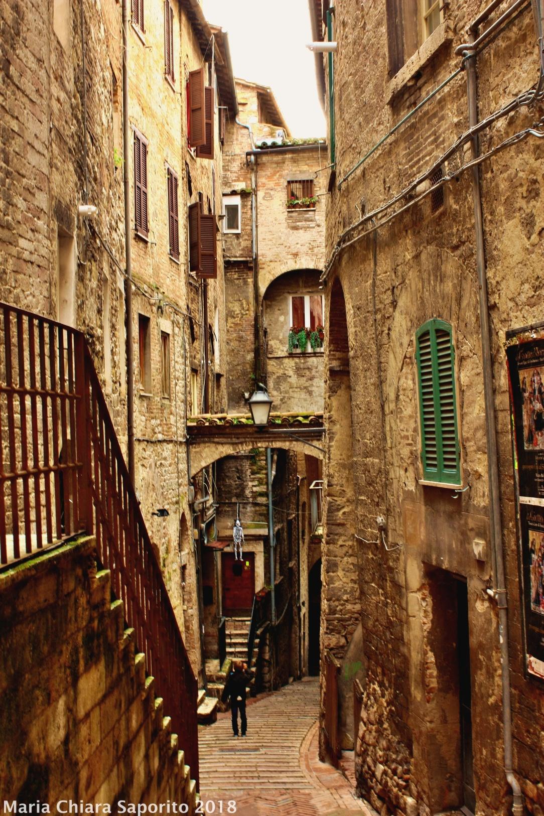 il borgo medioevale di Perugia