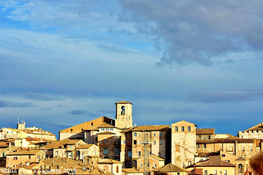 vista di Perugia da Torre degli Sciri